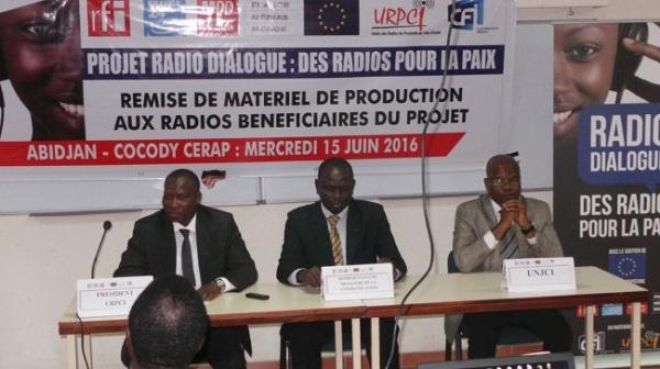 CFI et l'URPCI accompagnent les radios de proximité sur le chemin de la paix